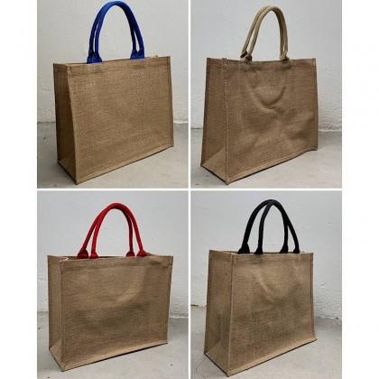 Laser & Printing on Jute Bag