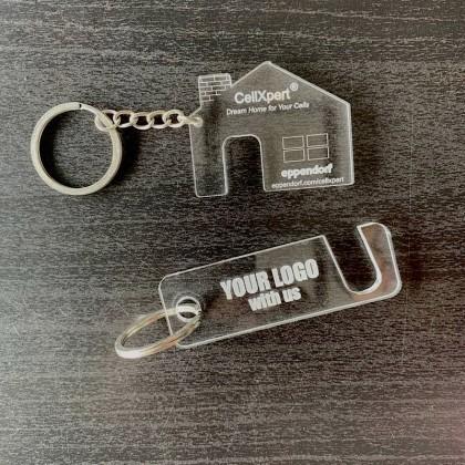 Custom Shape Acrylic Keychain