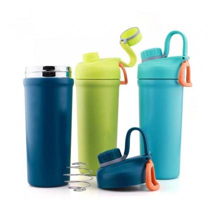 Vacuum Fitness Flask Shaker Bottle 850ml