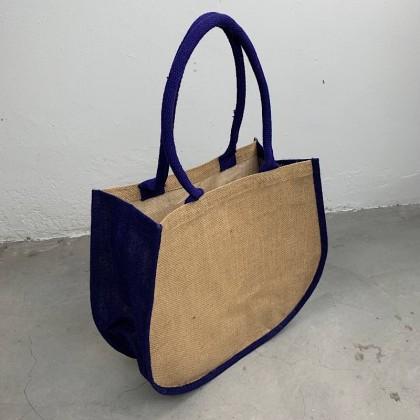 Fashion Curve Jute Bag