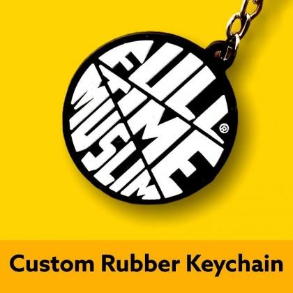 Custom Made Rubber Keychain